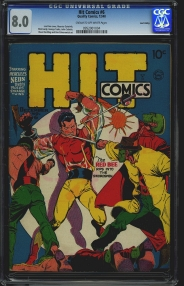 Golden/Atomic Age Comics